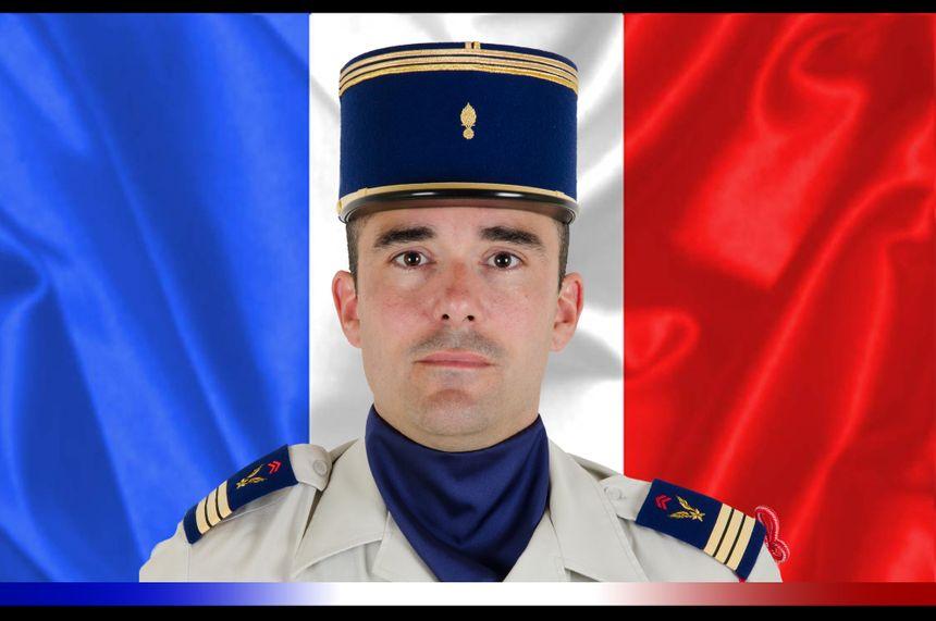 Capitaine Nicolas Mégard, du 5e Régiment d'hélicoptères de combat de Pau