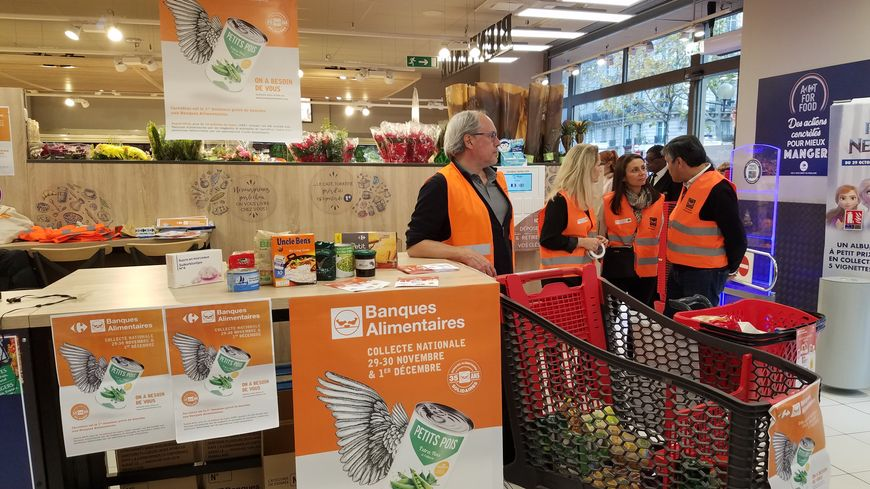 La collecte annuelle de la banque alimentaire est lancée
