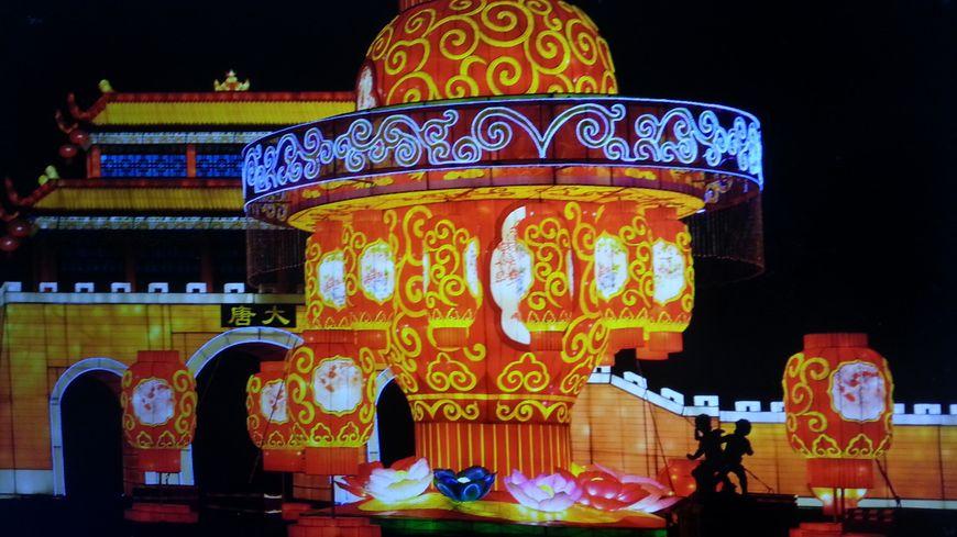 Le festival des lumières célestes au château de Selles sur Cher (Loir et Cher)