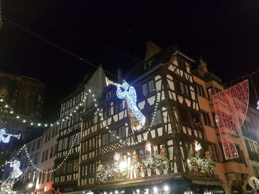 Les anges de la rue Mercière à Strasbourg (2019)