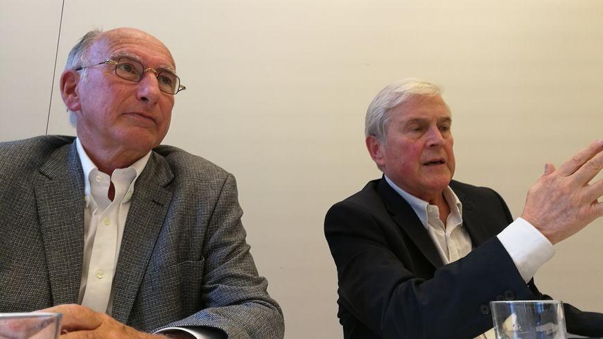 Guy Lafite accompagné de Michel Veunac