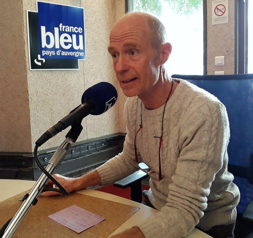 Yves Benoit, expert jardin de France Bleu Pays d'Auvergne