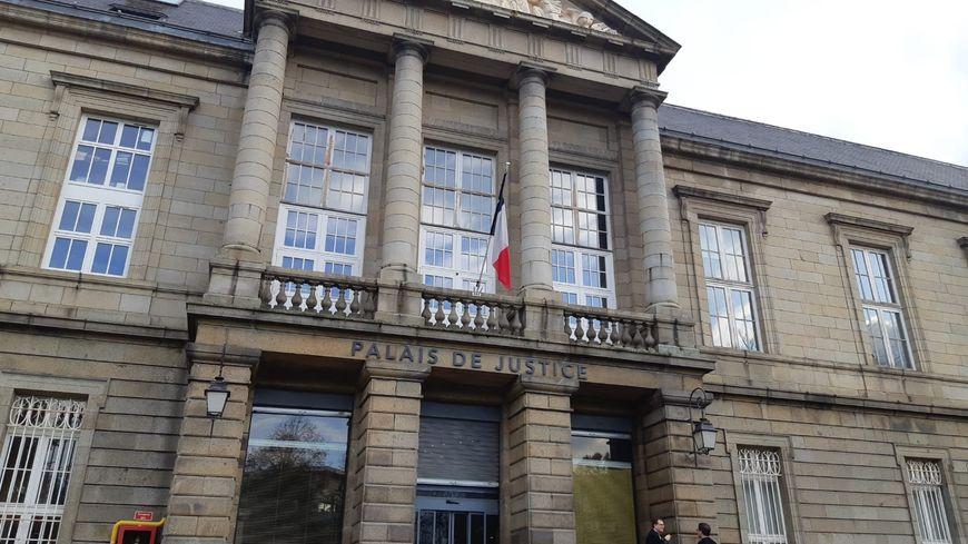 Le palais de justice de Saint-Brieuc.