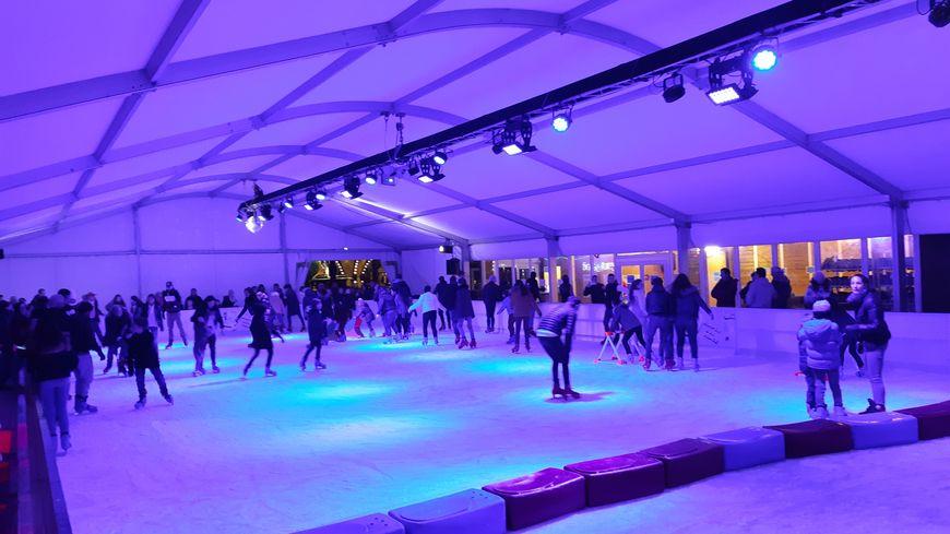 La patinoire sera installée à l'Espace Évêché