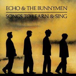 """Pochette de l'album """"Songs to learn"""" par Echo And The Bunnymen"""
