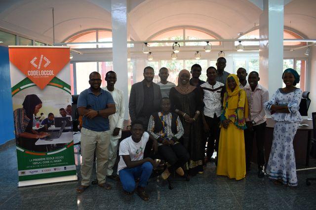 Codeloccol, première école de code à une quarantaine de kilomètres au Sud Est de Niamey, au Niger