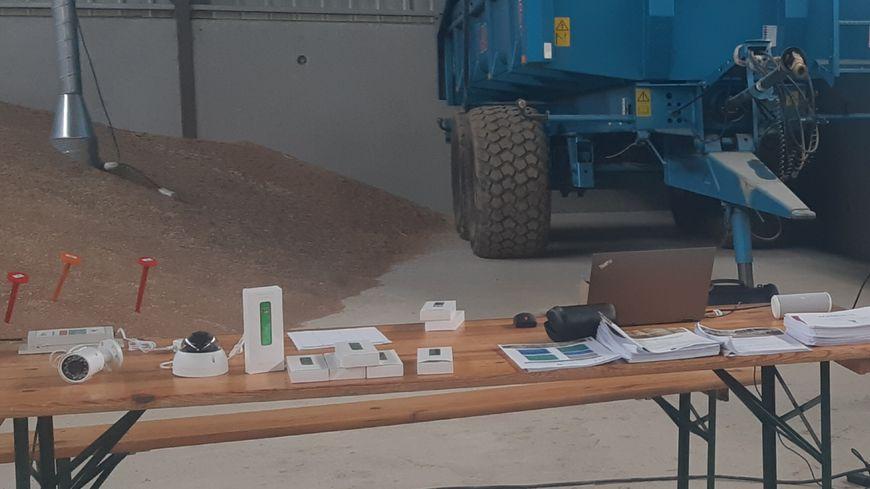 Matériel de vidéo surveillance à destination des agriculteurs