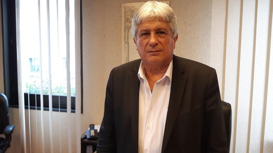 Hervé Féron, le maire de Tomblaine , le 26 novembre 2019