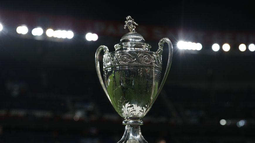 Le mythique trophée de la Coupe de France de football (illustration)