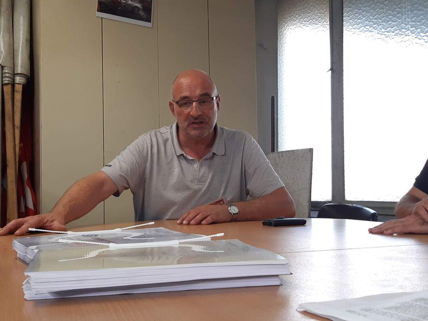 Jean-Bernard Etchemendy est délégué syndical CGT de Sintertech et représentant des salariés auprès du tribunal.