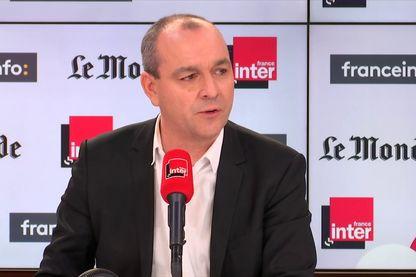 Le secrétaire général de la CFDT, Laurent Berger, invité de France Inter le 24 novembre 2019.