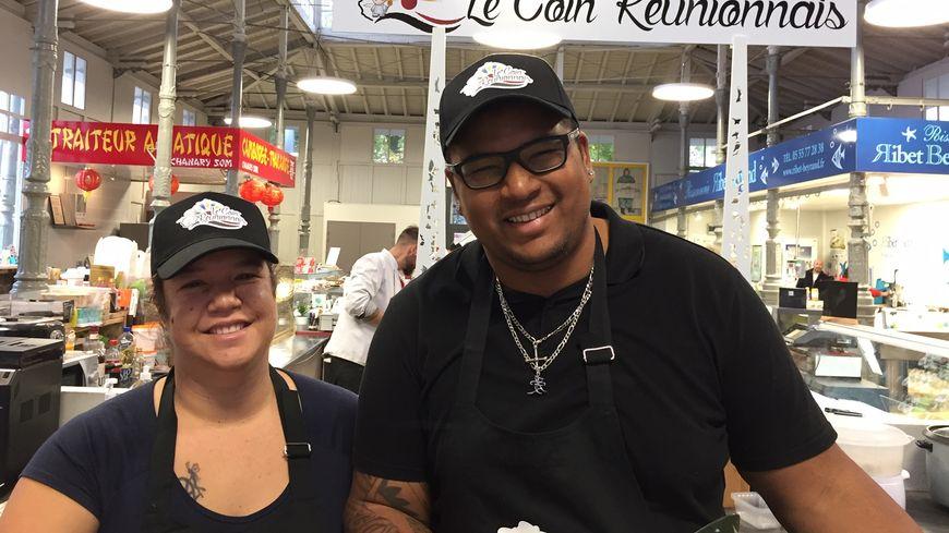 Jodie et Karim Admète  proposent grâce à la cuisine une découverte de la culture réunionnaise