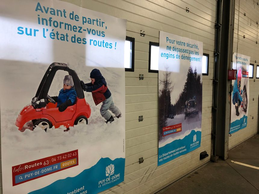 Le Département sensibilise aussi les automobilistes aux bons réflexes en cas de neige