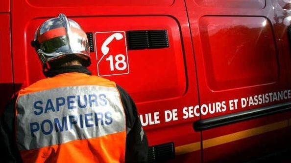 Pompiers en intervention