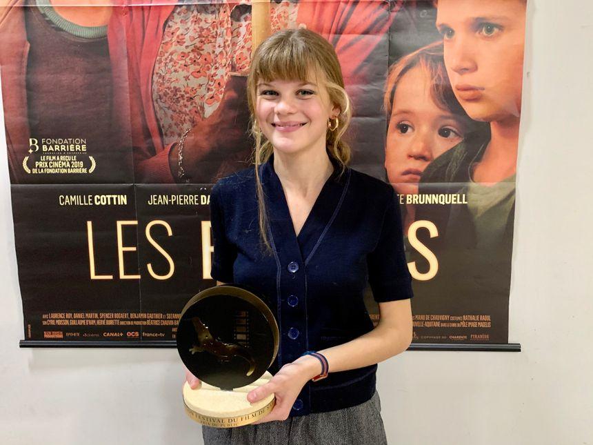 Céleste Brunnquell, prix d'interprétation féminine au Festival du Film de Sarlat