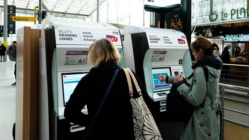 Impossible de réserver un billet SNCF sur de très nombreuses lignes de train pour la période de grève.