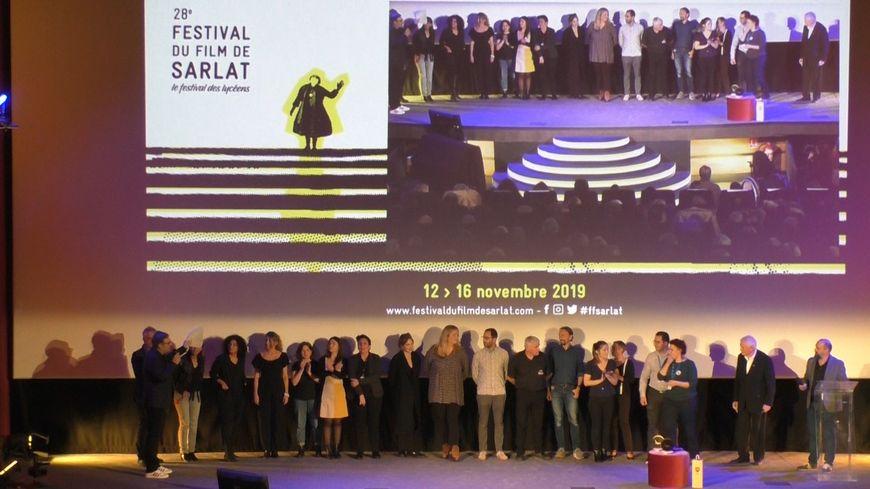 L'annonce du palmarès du 28ème Festival du Film de Sarlat