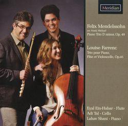 Trio pour piano flûte traversière et violoncelle en mi min op 45 : 3. Scherzo - EYAL EIN-HABAR