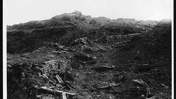 Le front d'Ypres, en Belgique