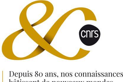 Le logo à l'occasion des 80 ans du CNRS