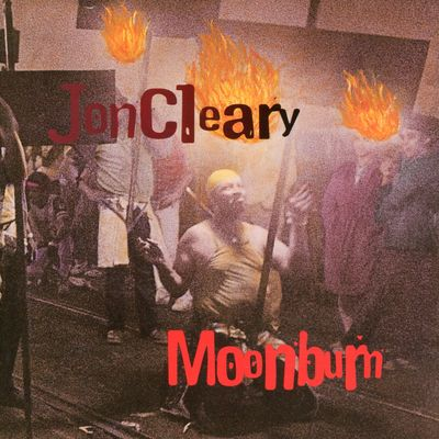 "Pochette de l'album ""Moonburn"" par Jon Cleary"