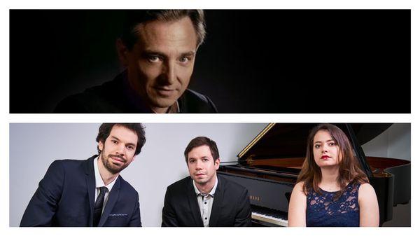 Michel Dalberto et le Trio Metral ; Fuoco E Cenere ; Alexander Boldachev ; Milla Mihova et Nikolay Stoykov