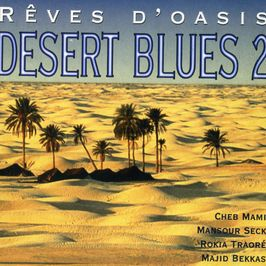 "Pochette de l'album ""Desert blues 2 / Rêves d'oasis"" par El Hadj N Diaye"