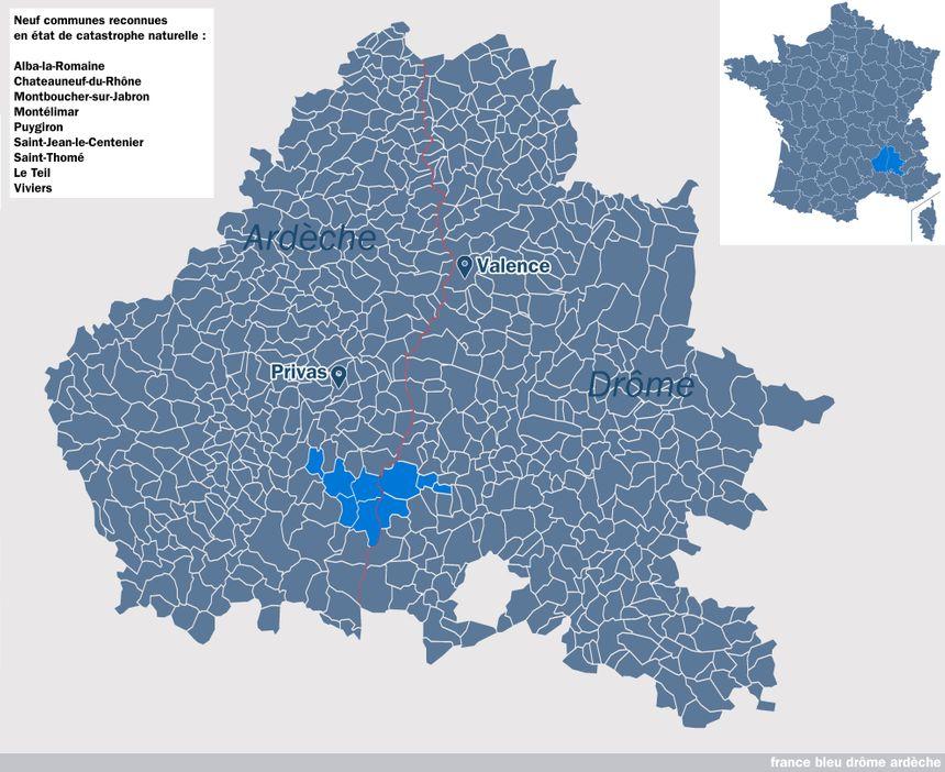 Séisme : neuf communes de la Drôme et d'Ardèche vont obtenir l'état de catastrophe naturelle