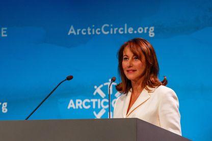Ségolène Royal au forum Arctic Circle, le 13 octobre 2017.