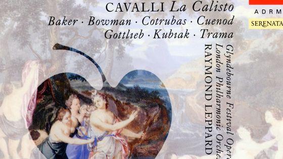 Francesco Cavalli, La Calisto. Baker, Bowman, Cotrubas, Cuenod, Gottlieb, Kubak, Trama. Glyndebourne Festival Opera Chorus, London Philharmonic Orchestra, Raymond Leppard