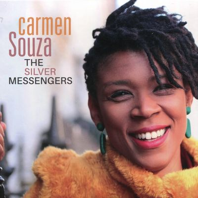 """Pochette de l'album """"The silver messengers"""" par Carmen Souza"""