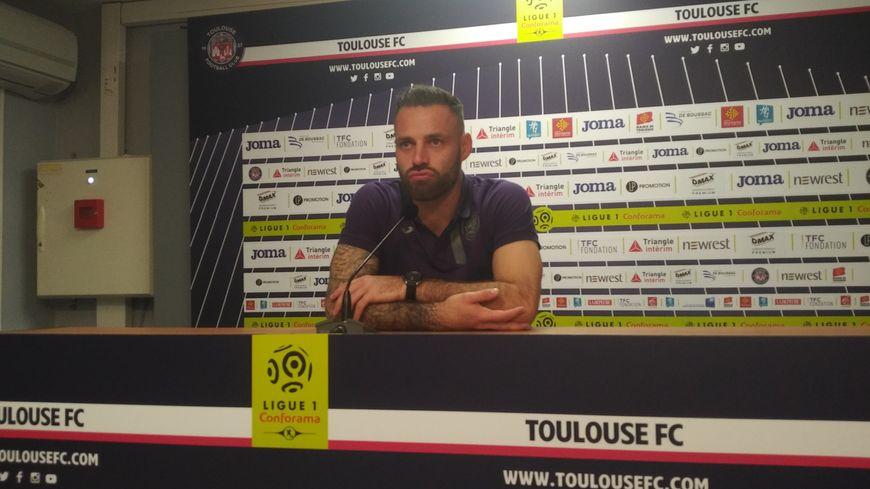 Le gardien du TFC Baptiste Reynet.