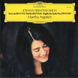 Toccata pour piano en ut min BWV 911 - MARTHA ARGERICH