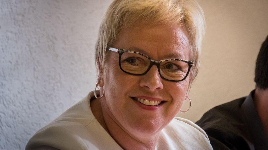 Marie-Dominique Aubry est la candidate des Républicains à Vesoul.
