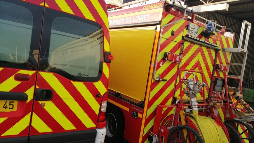 Véhicules d'intervention des pompiers du Loiret