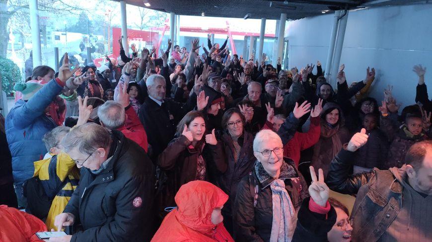 Près de 2.000 personnes ont participé à cette journée au Futuroscope organisée par Les Restos du Coeurs.