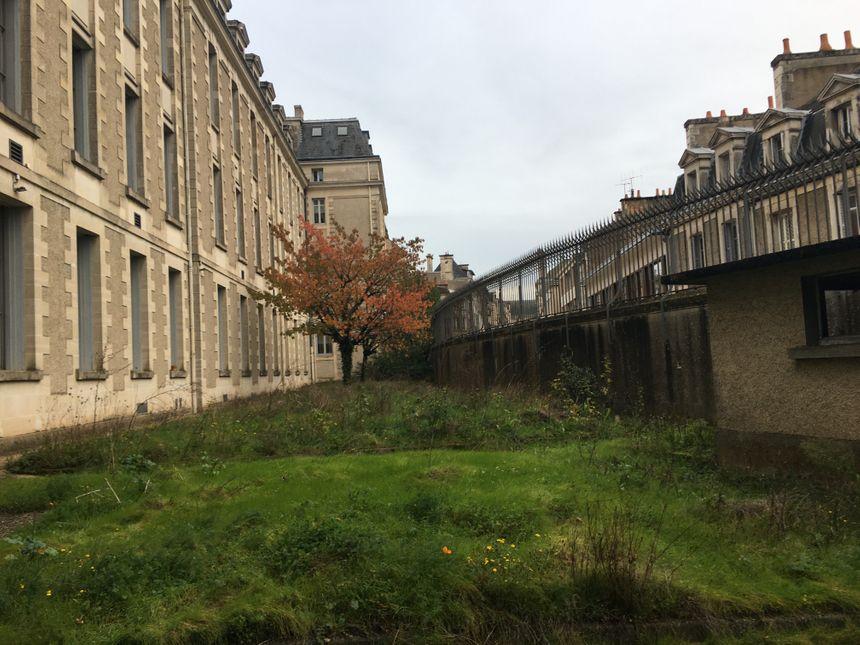 L'ancien jardin du directeur sera ouvert et transformé en jardin suspendu