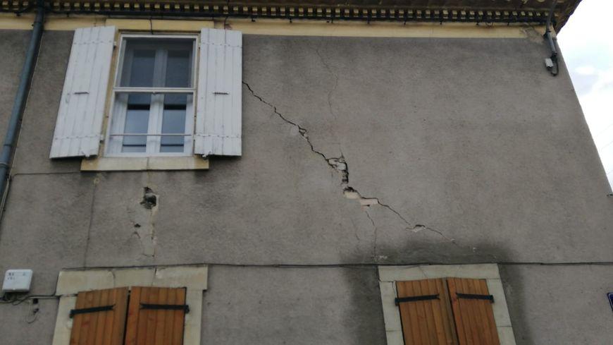 Près d'un quart des logements a été touché sur la ville du Teil