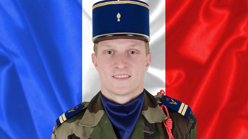 Le lieutenant Bockel, mort dans un accident d'hélicoptère au Mali.