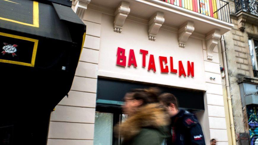 Façcade extérieur du Bataclan