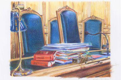 Face à la magistrate, des couples se déchirent