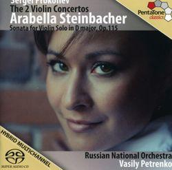 Concerto n°1 en Ré Maj op 19 : Moderato - Allegro moderato - Più tranquillo  - pour violon et orchestre - ARABELLA STEINBACHER