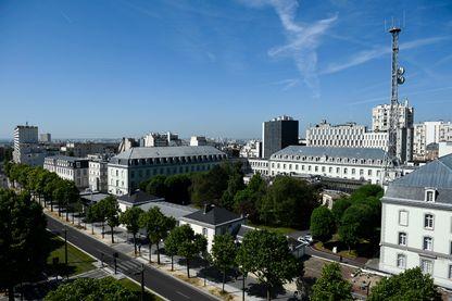 Le siège de la DGSE, la direction générale des services extérieurs, à Paris, en juin 2015.