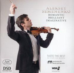 """Figaro - Paraphrase de concert sur la Cavatine de Figaro """"Largo al factotum"""" du Barbier de Séville de Rossini - réduction pour violon et piano - ALEKSEY SEMENENKO"""