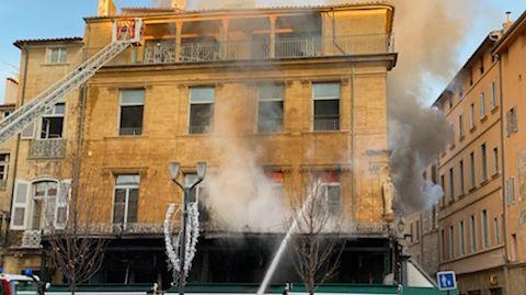 Les 2G en feu à Aix en provence