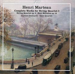 8 mélodies op 19c : 4. Matin d'octobre - pour mezzo-soprano et quatuor à cordes - KARINE DESHAYES