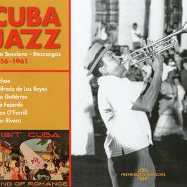 """Pochette de l'album """"Cuba jazz : Jam sessions - Descargas 1956-1961"""" par JULIO GUTIERREZ Y ORQUESTA, ALEJANDRO VIVAR AKA EL NEGRO, EDILBERTO SCRICH, JOSE SILVA AKA CHOMBO, EMILIO PENALVER"""