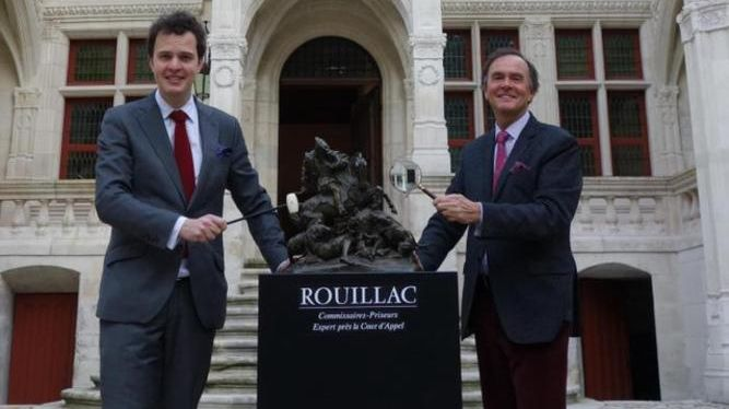 Aymeric et Philippe Rouillac - Ventes à l'Hôtel Goüin - Tours - janvier 2016
