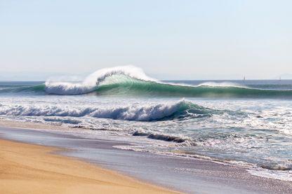 Plage de l'océan Atlantique