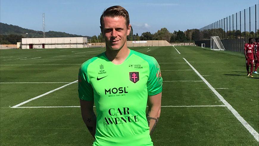 Lundi, c'est Graoully reçoit Paul Delecroix, le gardien du FC Metz - France Bleu